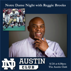 UND Night with Reggie Brooks