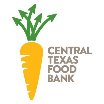 Central Texas Food Bank Logo - image of carrot and text